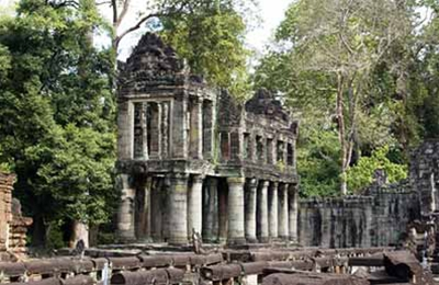 Angkor Sunrise Sunset  Kulen mount Koh Khe Beng Mealea Floating Village 5 Days Tour